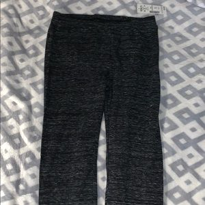 Grey/black leggings